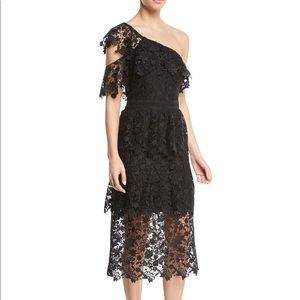 Joie Belisa Dress Black Lace